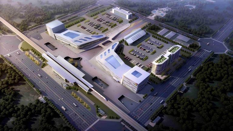 航空港区公交综合枢纽