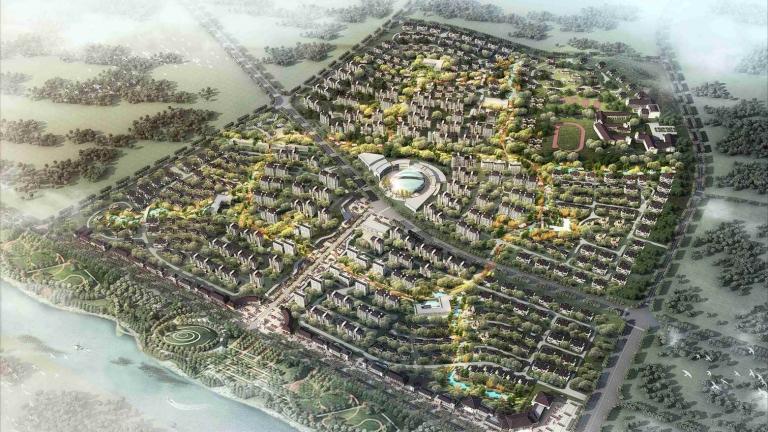 凤凰谷概念规划设计
